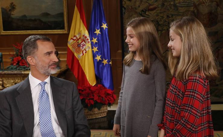 Felipe, el padre de Leonor y Sofía