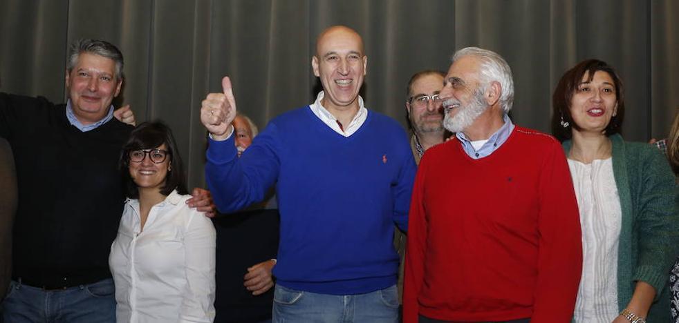 José Antonio Diez seguirá siendo secretario general del PSOE de la capital tras obtener el 73% de los votos