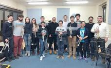 Gran éxito del curso de Trompeta de Juan Carlos Alandete