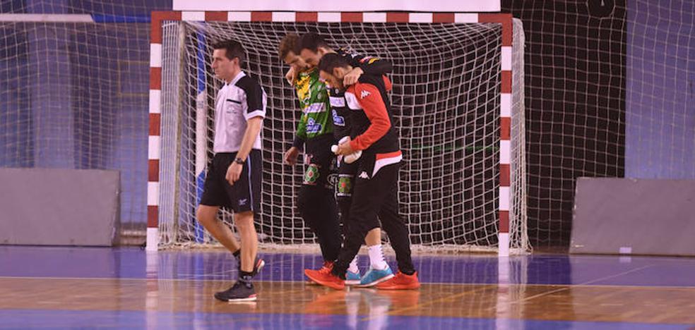 La lesión de Costoya fue un 'susto' y jugará el sábado ante Cangas