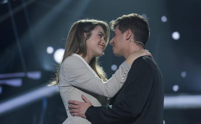OT 2017: Alfred y Amaia, el beso definitivo