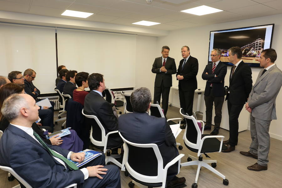 Reunión del Comité de Suez España en León