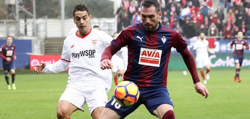 Manita del Eibar al Sevilla