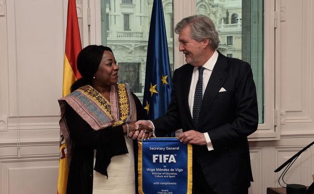 La FIFA confirma que España irá al Mundial al no ver injerencia gubernamental