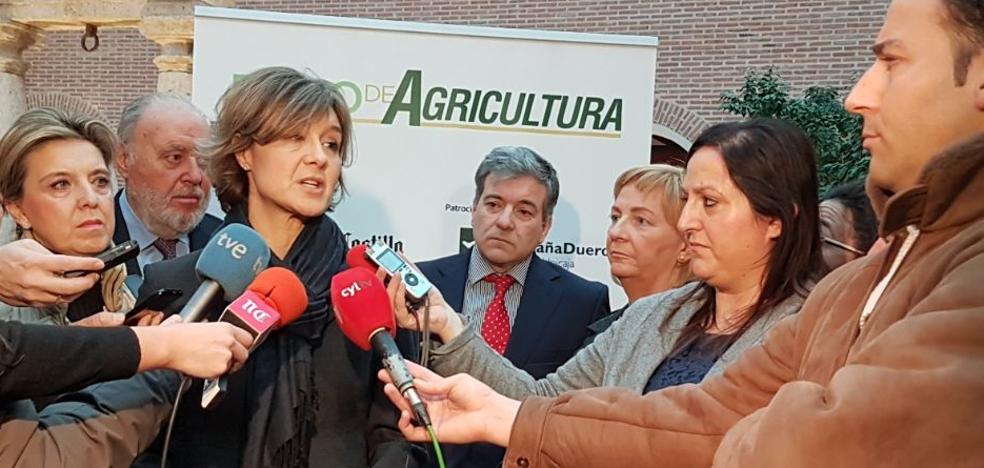 García Tejerina: «Todavía estamos en situación de sequía»