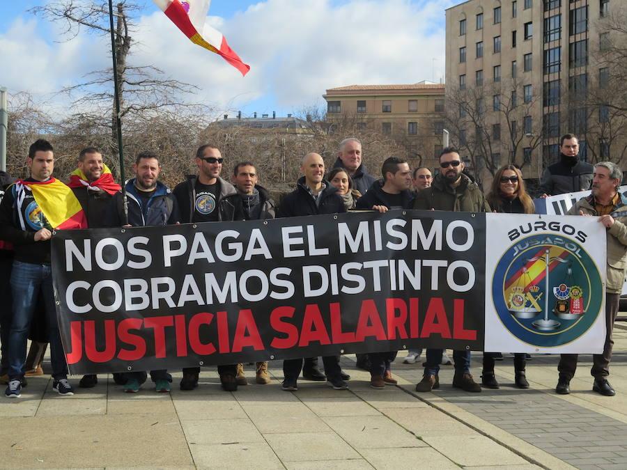 Manifestación por la igualdad salarial