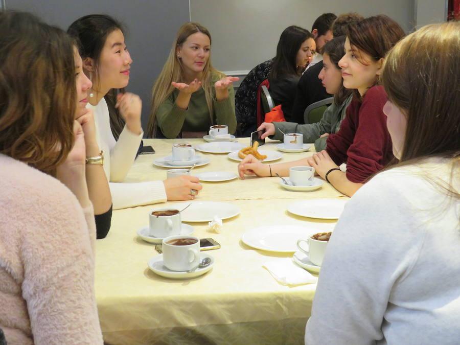 La bienvenida a los Erasmus