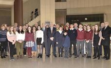 La Delegación Territorial de la Junta felicita a los becados leoneses por la Fundación Amancio Ortega