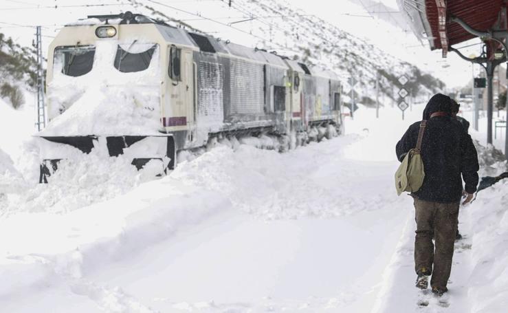Las espectaculares imágenes que la nieve ha dejado en la comunidad