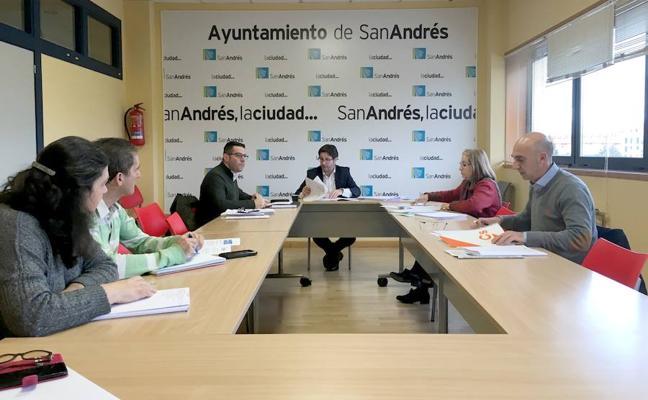 El equipo de Gobierno de San Andrés traslada la propuesta definitiva de inversiones tras las aportaciones de la oposición