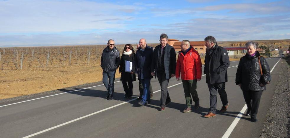 La Diputación invirtió 12,8 millones de euros para adecuar 187 kilómetros de la red provincial de carreteras en los últimos dos años