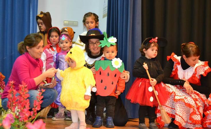Los escolares de la provincia de Palencia disfrutan del carnaval