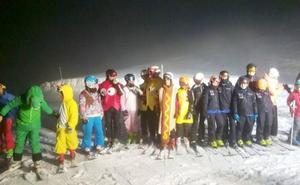 Las Estaciones de Esquí de la provincia reciben durante el fin de semana de Carnaval a 4.900 visitantes