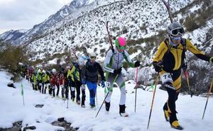 El berciano Manuel Merillas conquista el 'Ski Montaña Palentina'