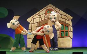 El musical 'Los tres cerditos' llega al Auditorio con dos funciones