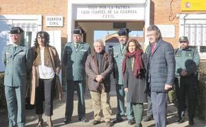 La Diputación rubrica su apoyo a las 'casas cuartel' de la Guardia Civil con una inversión de 600.000