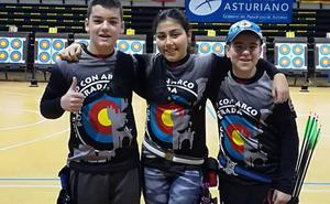 Una medalla berciana en el Campeonato de España de tiro con arco