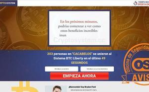 «Gana 13.000 euros desde casa hoy»: peligro, es un fraude