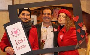 León celebrará San Valentín con el comercio, guiado por las flechas de cupido