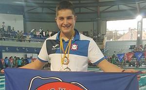 Una plata y dos bronces para Alberto Turrado en el Campeonato de España de salvamento