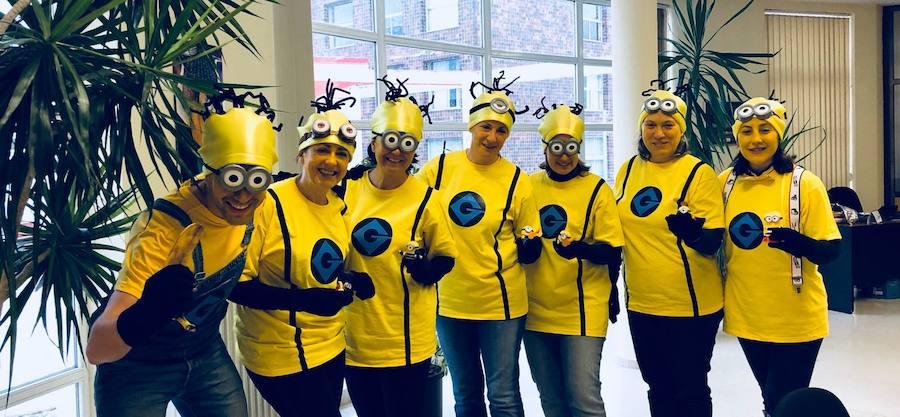 Los 'Minions' toman la Universidad de León
