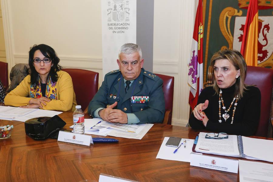 Comisión de Asistencia a la delegada del Gobierno en Castilla y León