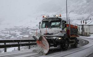 Desactivadas las alertas en las carreteras de León por la nieve