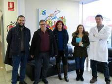 El coordinador del programa eu-fora visita a las dos investigadoras becadas en el ICTAL