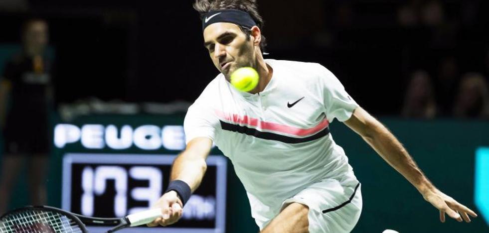 Federer, a un paso de arrebatar el trono a Nadal