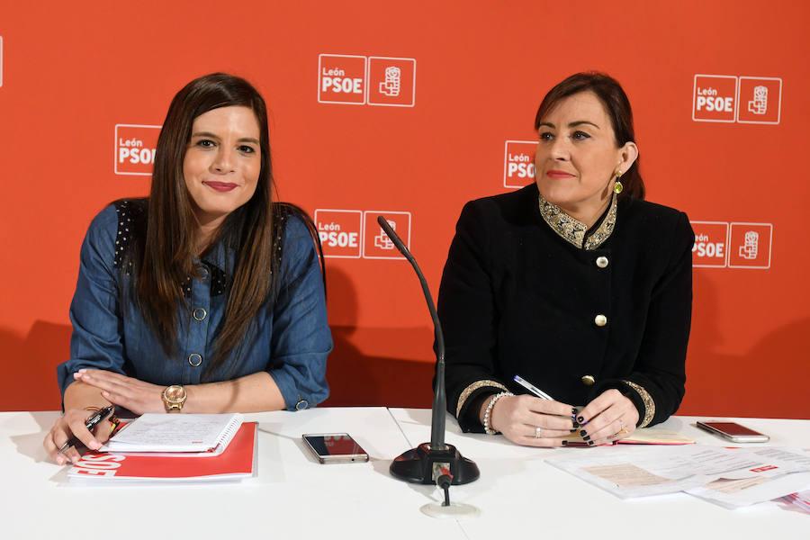 Reunión entre el PSCyL y el PSOE de León