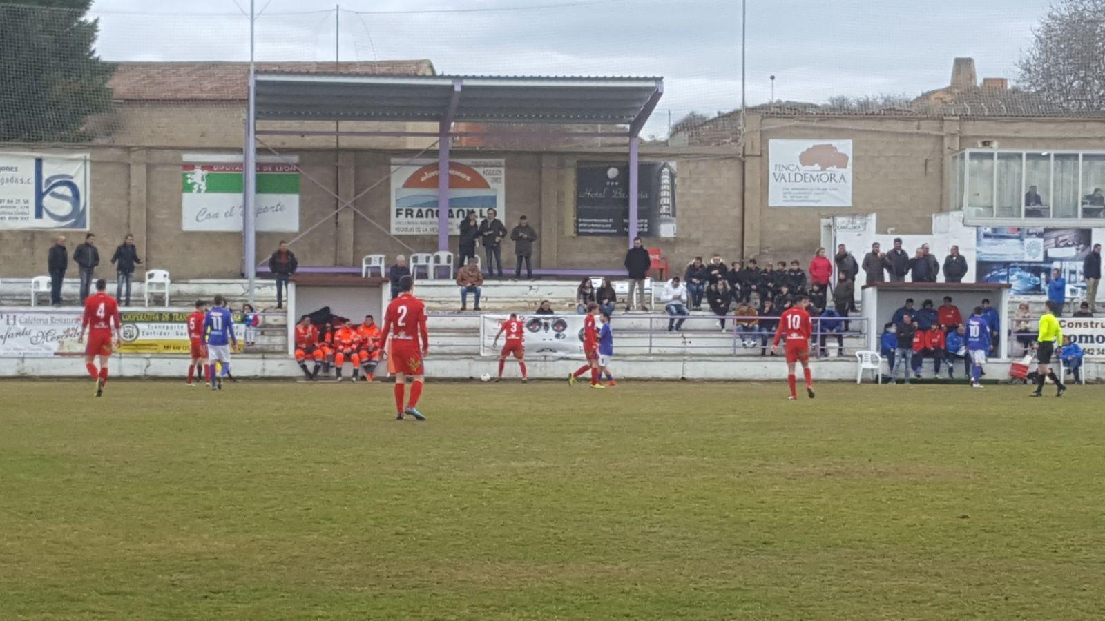La Bañeza 3-0 Numancia B