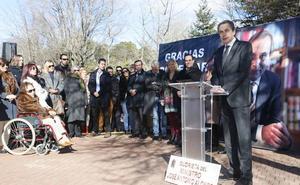 Cendón agradece a León el homenaje a José Antonio Alonso