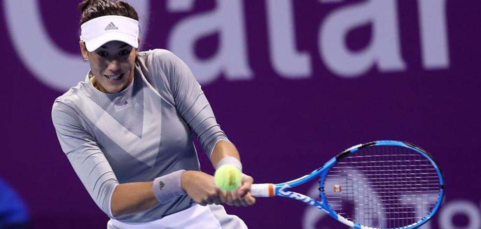 Garbiñe Muguruza cae en la final ante Petra Kvitova