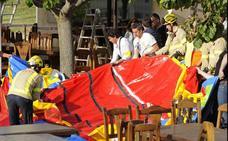 El hinchable en que murió una niña en Girona era de «mala calidad» y estaba «mal montado»
