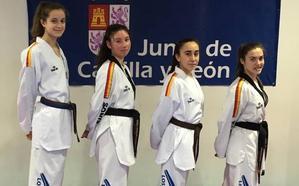 Cuatro leonesas en el Campeonato de España Júnior de taekwondo