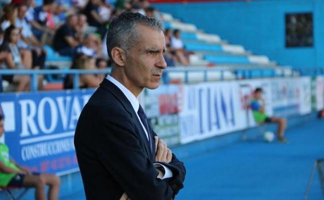 Terrazas: «El gol antes del descanso nos hizo mucho daño»