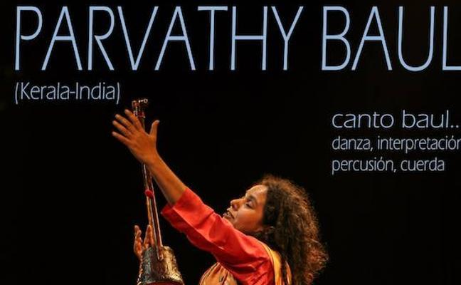 El Albéitar recibe el martes la visita de Parvathy Baul y su música de la India