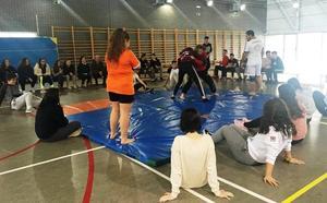 San Andrés impulsa la lucha leonesa como modalidad de las escuelas deportivas