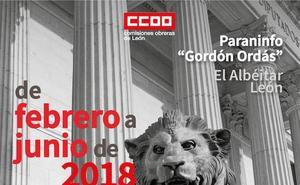 CCOO de León y la Fundación Jesús Pereda ponen en marcha el foro de reflexión y debate '¿Qué Constitución queremos?'