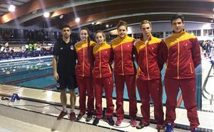 Cinco nadadores del CN León representan a Castilla y León en el Campeonato de España