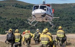 La Junta licita por tres millones de euros la contratación del servicio de lucha integral contra incendios forestales en León