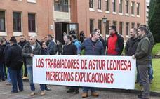 Los trabajadores de Asturleonesa no secundarán la huelga, aunque la mantendrán convocada