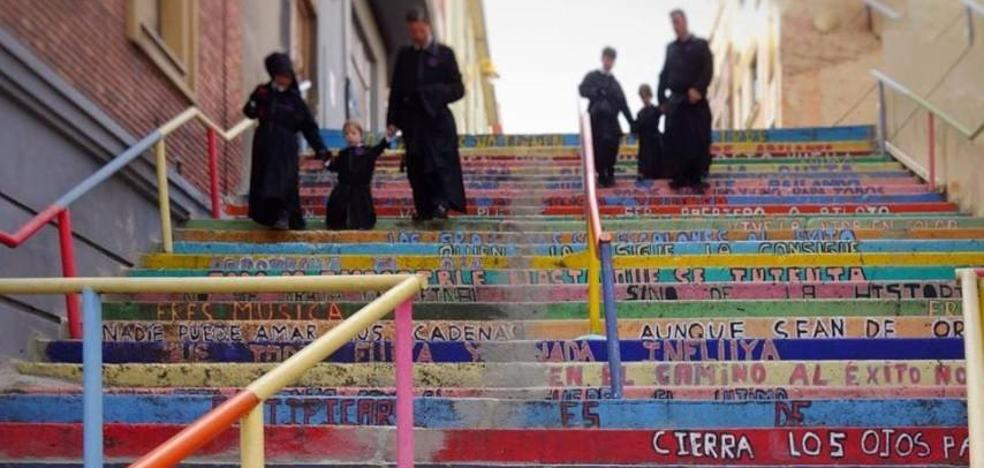 'La escalera de la vida', premio ARTEspacios de la Universidad Autónoma de Madrid