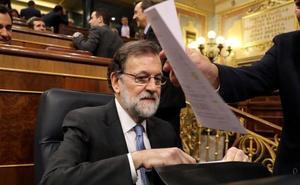Rajoy cuestiona el «patriotismo» y la «inteligencia» de Sánchez tras el veto a Valenciano