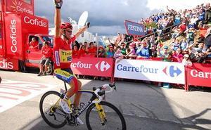 Los aficionados de La Vuelta podrán elegir a La Camperona como mejor final en alto