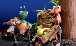 'La cigarra y la hormiga', enseñarán con un divertido teatro la fabula a los más pequeños