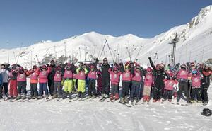 La Diputación pone en marcha una campaña para fomentar en los jóvenes los deportes de invierno