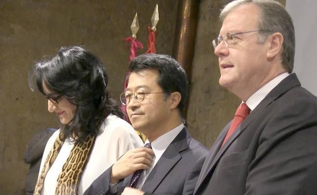 La «maravillosa» ciudad de León refuerza sus puentes con Japón