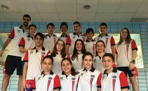 El Club Natación León finaliza sexto en el Territorial Alevin