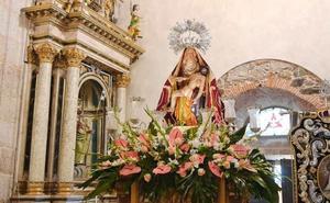 El obispo de Astorga presidirá el 2 de abril la coronación canónica de la Virgen de la V Angustia